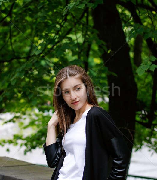 Goodlooking Young Girl Stock photo © alexaldo