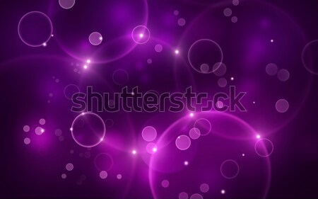 Purple Bokeh Lights Stock photo © alexaldo