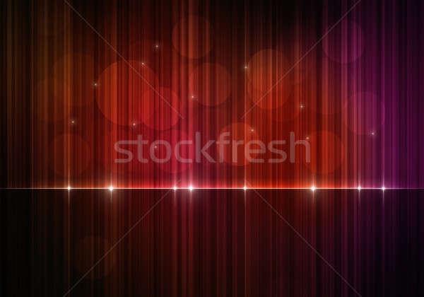 Kleurrijk doek bokeh lichten donkere abstract Stockfoto © alexaldo