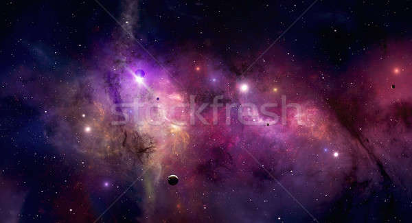 Space Universe Stock photo © alexaldo