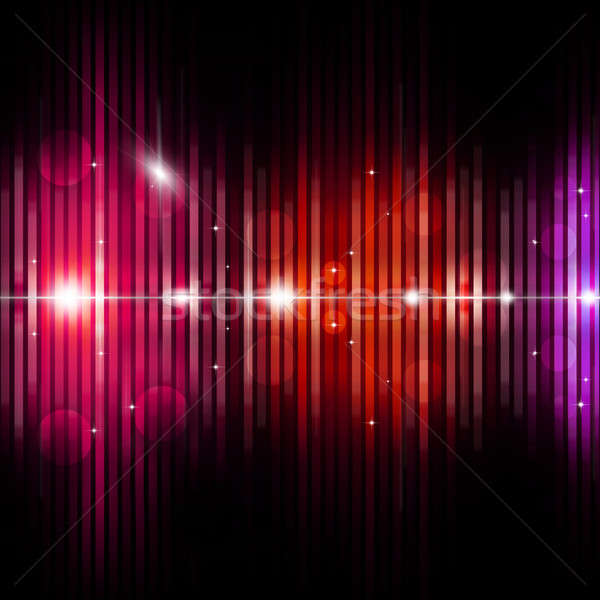 Abstract Equalizer Music Background Stock photo © alexaldo