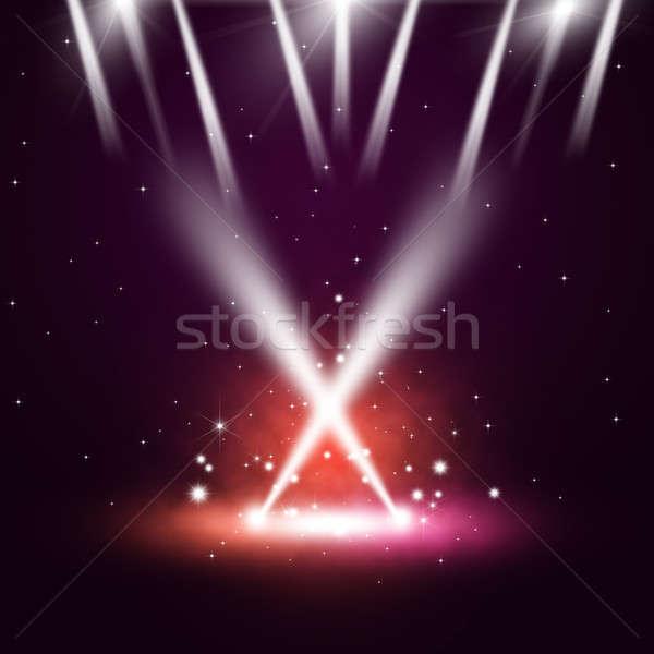 音楽 コンサート 抽象的な ディスコ 1泊 クラブ ストックフォト © alexaldo