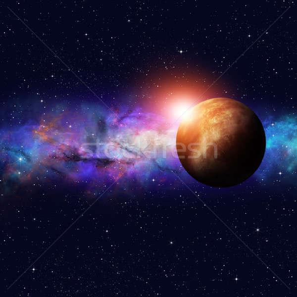 Deep Space Starfield Stock photo © alexaldo