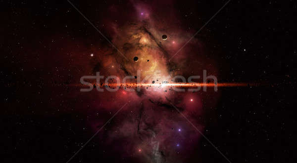 Star Field Stock photo © alexaldo