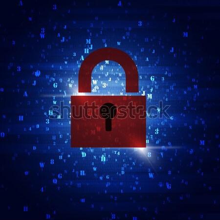 Security Code Combinations Stock photo © alexaldo