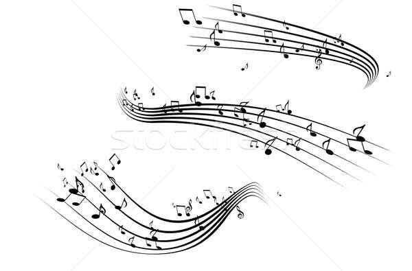 Music Notes Stock photo © alexaldo