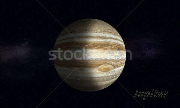 Biggest Gas Giant Jupiter Stock photo © alexaldo