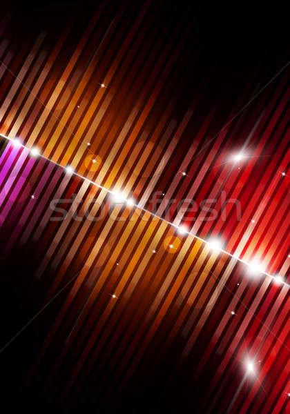 Müzik parti poster gece klübü posterler Stok fotoğraf © alexaldo