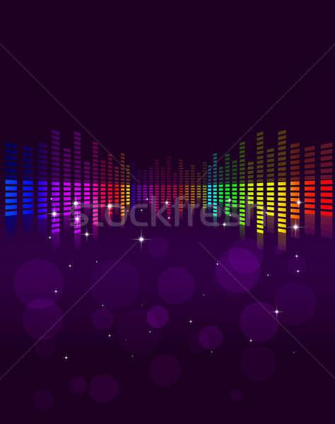 Abstract Music Background Stock photo © alexaldo