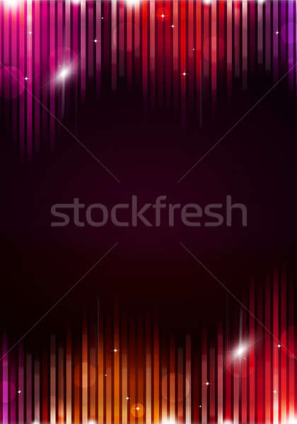 Buli zene absztrakt szórólapok éjszakai klub plakátok Stock fotó © alexaldo