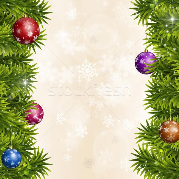 Christmas Eve Decoration Stock photo © alexaldo