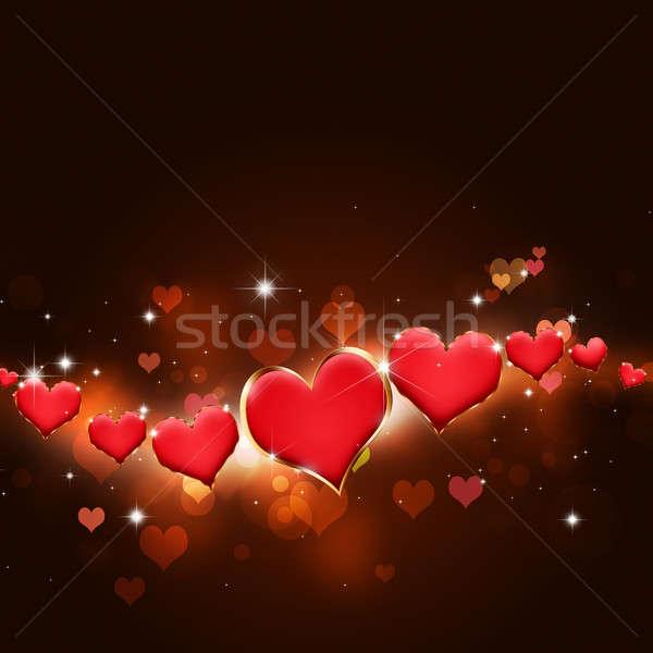 Valentine Holiday Card Stock photo © alexaldo