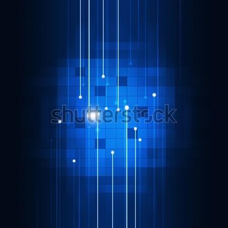 Abstract Motion Blue Biz Background Stock photo © alexaldo