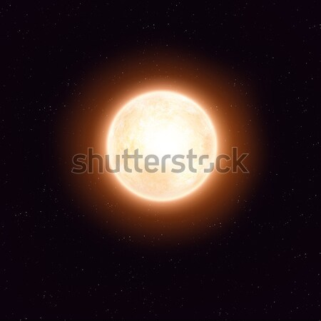 Mavi star hayali güneş uzay görüntü Stok fotoğraf © alexaldo