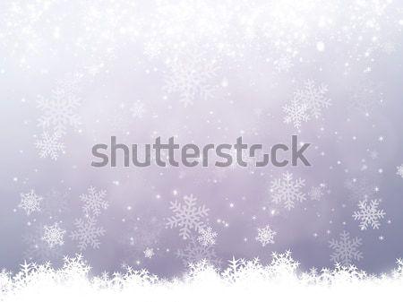 Snow Background Stock photo © alexaldo