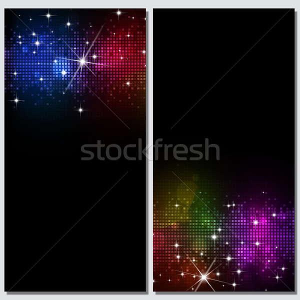 Abstract Dark Disco Backgrounds Stock photo © alexaldo