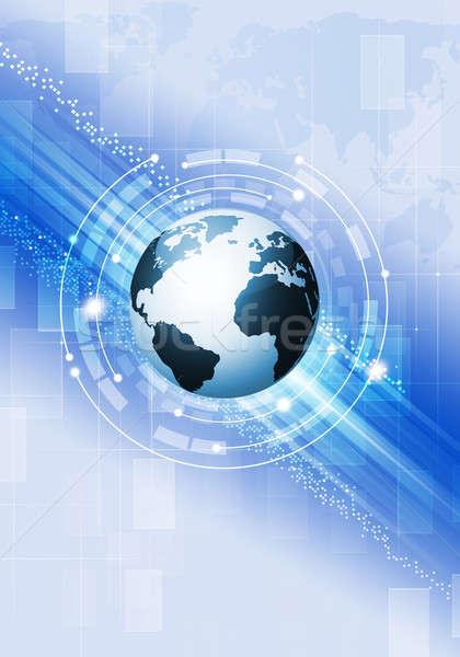 Abstract Business Background Stock photo © alexaldo