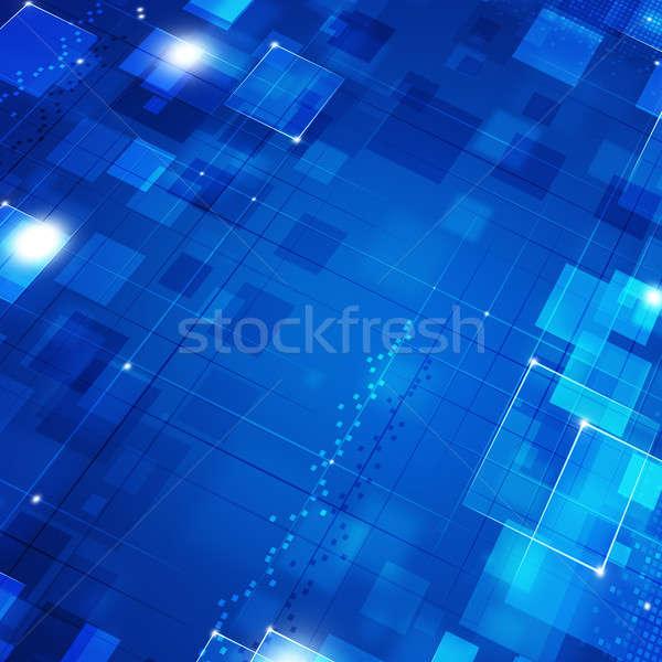 Blue Biz Motion Background Stock photo © alexaldo