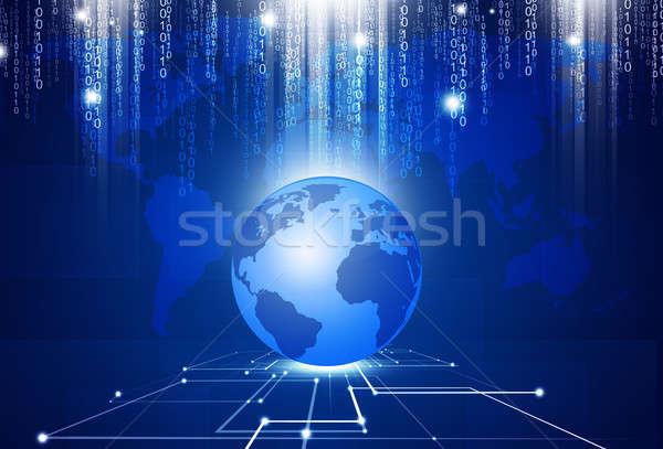 Technology Rules the World Stock photo © alexaldo