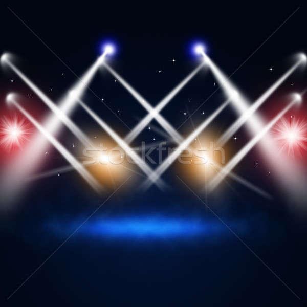 Music Concert Lights Stock photo © alexaldo