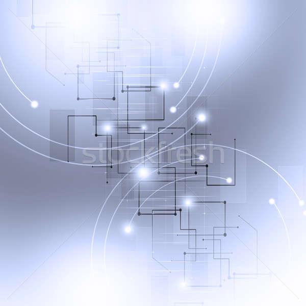цифровой бизнеса аннотация глобальный сеть Сток-фото © alexaldo