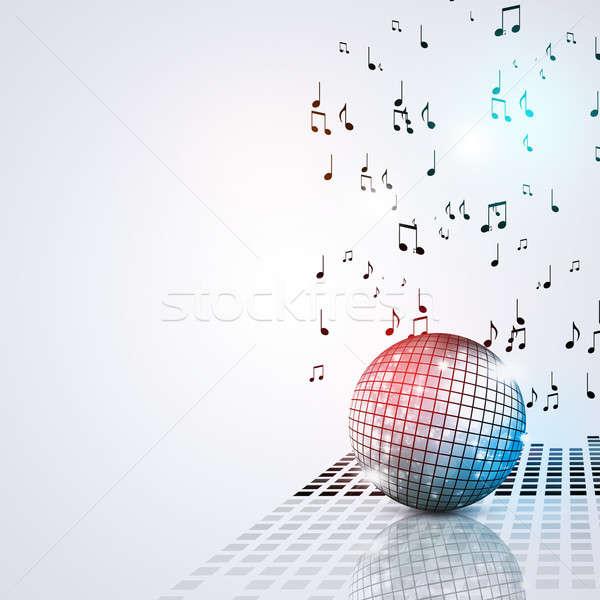 Music Ball Party Bright Background Stock photo © alexaldo