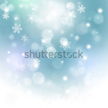Winter Bright Background Stock photo © alexaldo