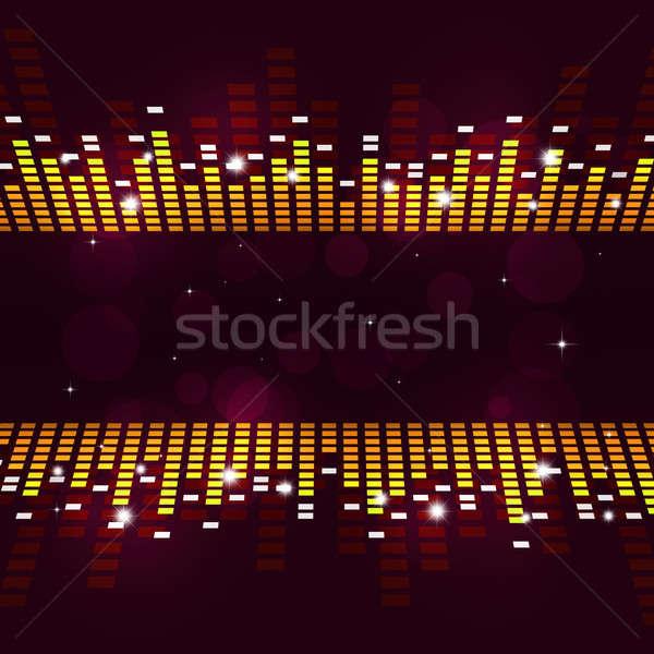Foto stock: Ecualizador · anunciante · resumen · música · activo · partes