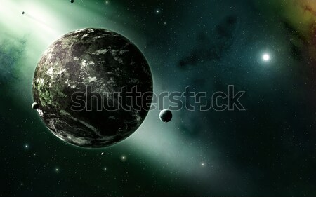 Universe Background Stock photo © alexaldo