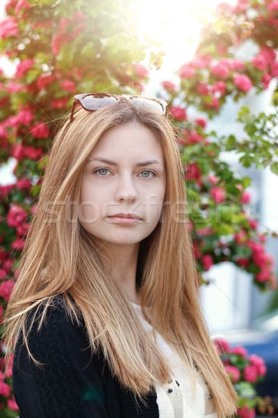 Nice Girl in Park Stock photo © alexaldo