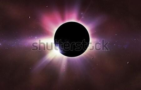 Solar Eclipse Stock photo © alexaldo