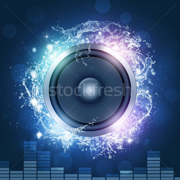 Rumore suono discoteca night club parti Foto d'archivio © alexaldo