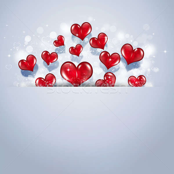 Holiday Valentine Card Stock photo © alexaldo