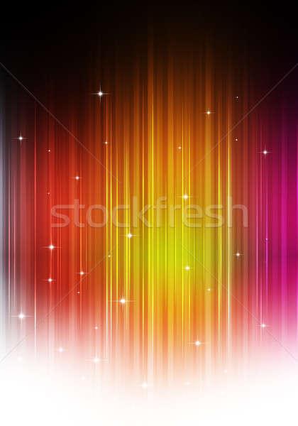 Abstract Multicolor Music Background Stock photo © alexaldo