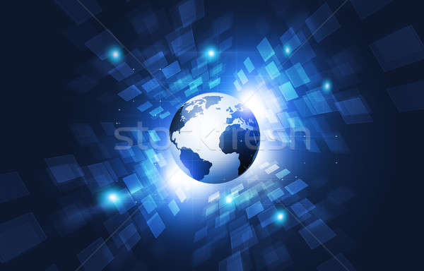 Stock photo: Abstract Technology Connections Interface