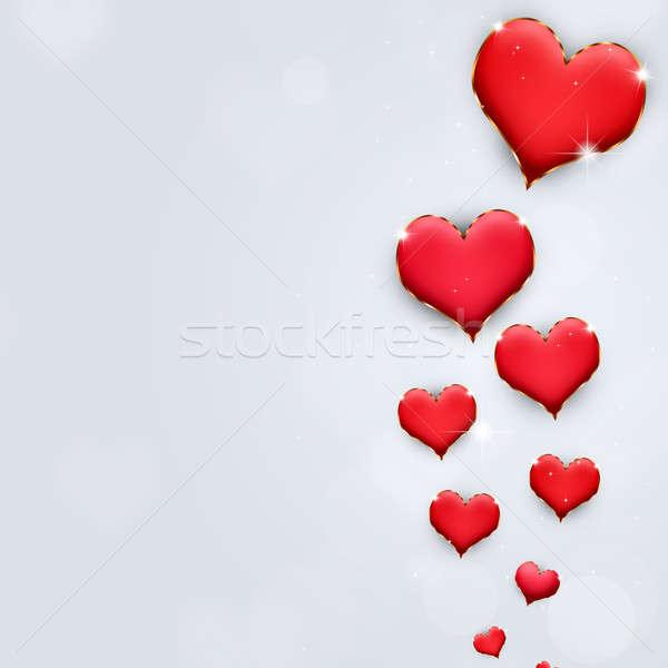 Valentine Holiday Hearts Stock photo © alexaldo