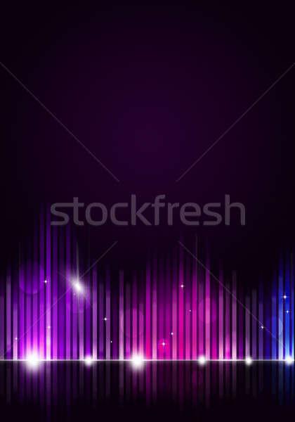 Diszkó zene buli szórólapok éjszakai klub plakátok Stock fotó © alexaldo