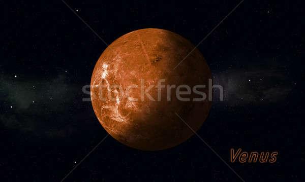 Solar System Planet Venus Stock photo © alexaldo