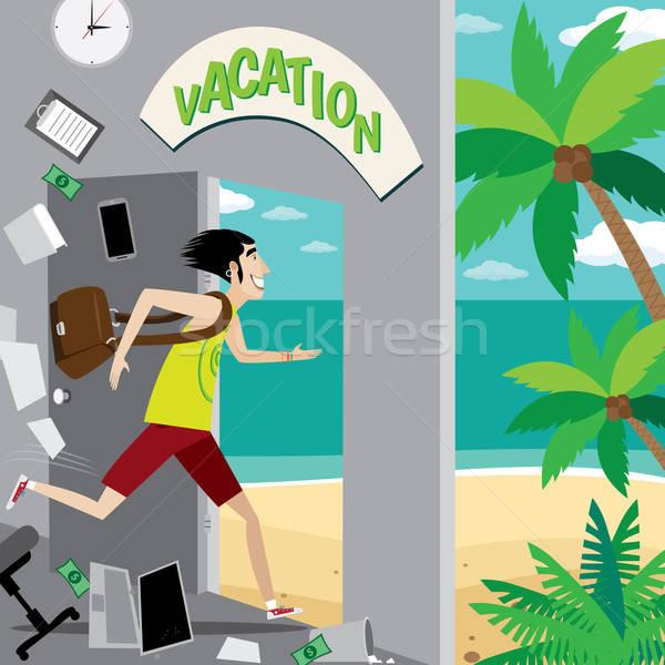 Vacation is waiting for you Stock photo © alexanderandariadna