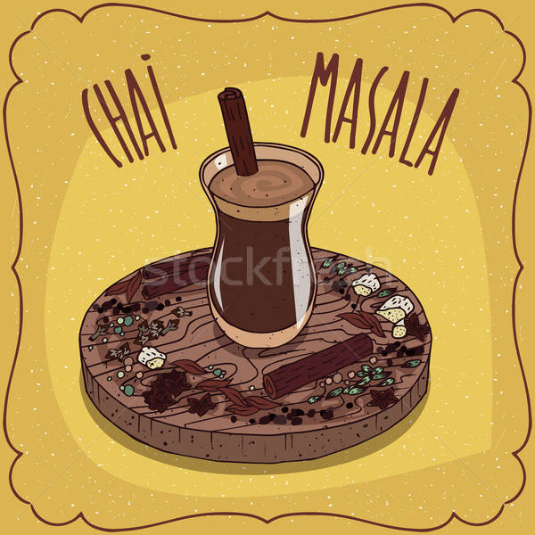 Indiano chá prato tradicional comida Foto stock © alexanderandariadna