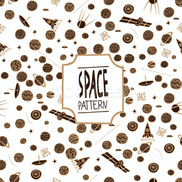 Modèle espace propre résumé technologie Photo stock © alexanderandariadna