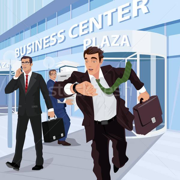randevú elfoglalt üzletember