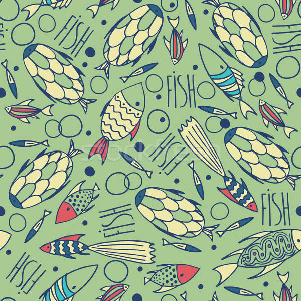 Verde pattern caotico piccolo Foto d'archivio © alexanderandariadna