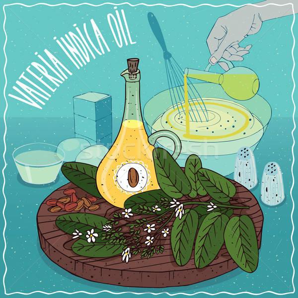 Vateria indica oil used for cooking Stock photo © alexanderandariadna