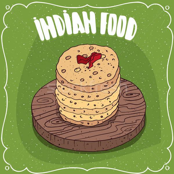Indiano prato tradicional comida Foto stock © alexanderandariadna