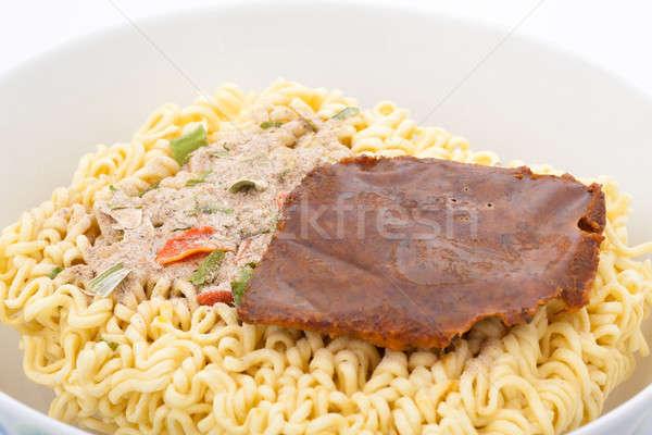 急速 麺 準備 水 パスタ 食べ ストックフォト © alexandkz