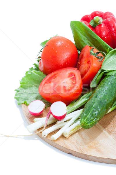 Fraîches coloré légumes alimentaire santé Photo stock © alexandkz