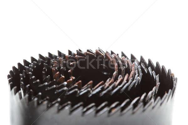Trou outils isolé noir Photo stock © alexandkz