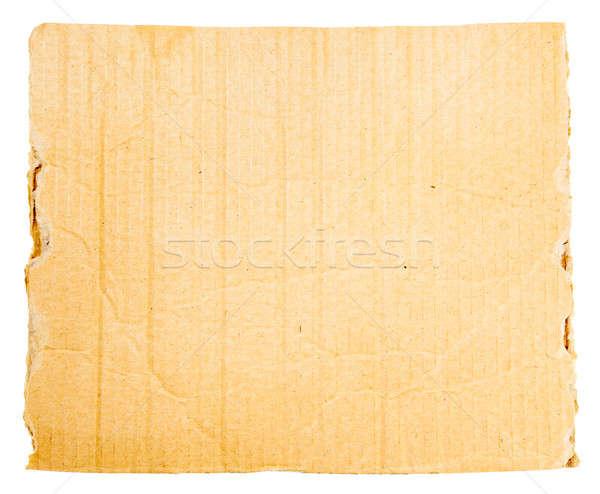 cardboard sheet Stock photo © alexandkz