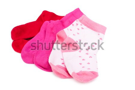shoes and socks  isolated on white Stock photo © alexandkz